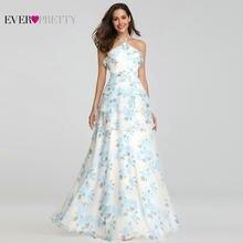 f6bd253cb Traje Demoiselle D honneur bonito EP07239 una línea elegante cuello en V  Foral imprimir Bridsmaid vestidos boda vestido de fiest.