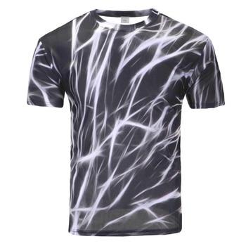 Funny Lion Print T-Shirt 1