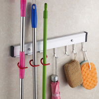 House Lady Good Assistant Mop Frame Multifunctional Besmirchers Rack Mop Rack Mop Storage Rack Bathroom Accessories