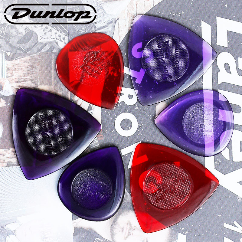 Dunlop Stubby Guitar Picks Triangle Tear Shape Bass Mediator Acoustic Electric Classic Guitar Pick Part Accessories Guitar Picks