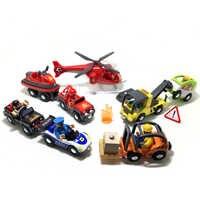 W130 Freies Verschiffen Baby Spielzeug Baufahrzeuge Gabelstapler, anhänger, auto Kind Bildung League Modell Spielzeug Autos Kinder Geschenke