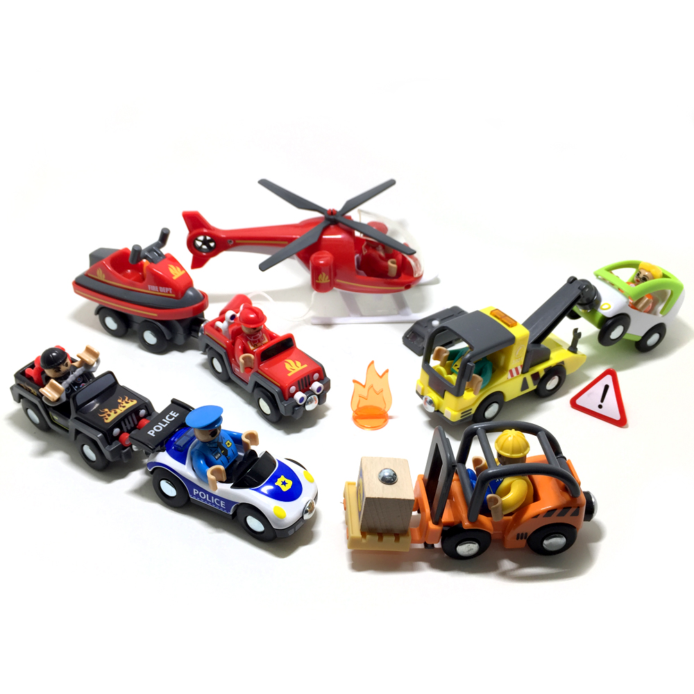 w130 Free Shipping Baby Toy Construction Vehicles Forklifts trailer car Child Education League Model Toy Cars
