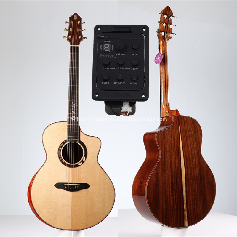 Guitare pleine solide, guitare Jumbo 41
