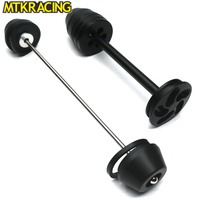 MTKRACING CNC modified motorcycle accessories anti drop ball front and rear wheel shock absorbers for BMW NINE T 2017 2018