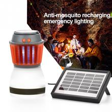 Outdoor Electronics LED Mosquito Killer Light Lamp Solar Anti Mosquito Killer Lamp Night Light IP67 Waterproof Pest Killer Lamp цена