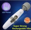 Large LCD touch screen AV vibration massage stick, G-spot Clitoral Stimulation ,AV Wand Vibrator sex toys for women