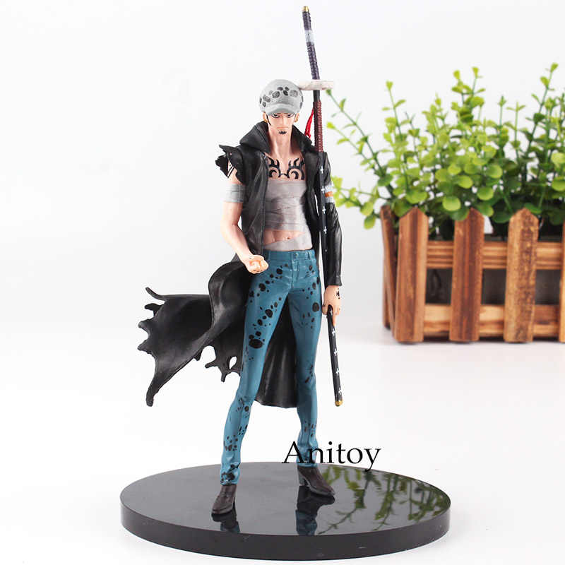 SCultures BIG One Piece Anime Action Figure Trafalgar Law Figura Trafalgar D Água Lei Fundamental Guerra Ver. Vol 6 PVC Brinquedos 18 cm