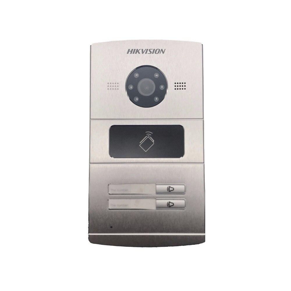 Hikvision Vidéo Accès Controln DS-KV8202-IM, 120 WDR caméra, interphone Visuel sonnette, IC carte pour ouvrir la porte