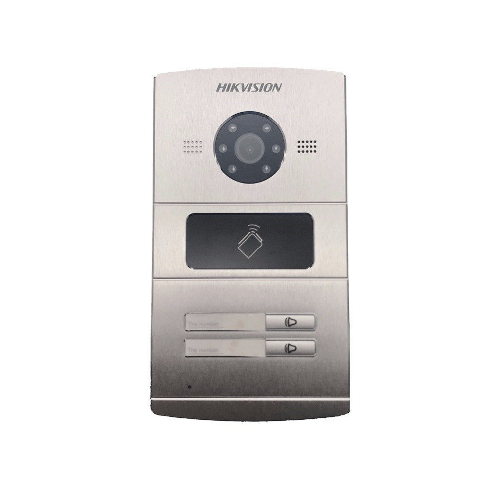 Hikvision Video Access Control-DS-KV8202-1A(DS-KV8202-IM),120 WDR camera,Visual intercom doorbell,IC card to open the door ds kab01 surface mounted box for ds kv8102 im ds kv8202 im ds kv8402 im