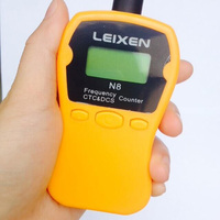 New Leixen N8 Portable Radio Frequency Counter meter better than SF401 Plus surecom sw 102,suitable for bf 888s wln kd c1