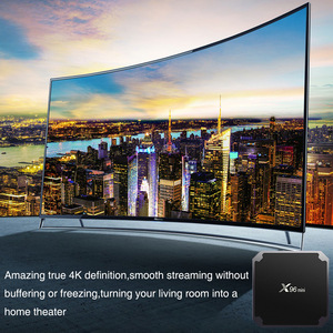 Image 4 - 2.4GHz WiFi HD 4K Media Player Set top Box Android 7.1 TV Box Mini Box TV Amlogic S905W 1+8G 2+16G Bluetooth Support
