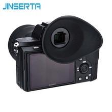 JINSERTA מצלמה עינית עינית עיינית מגן עבור Sony A7RIII/A7II/A7SII/A7RII/A7R/A7S/ a7A58 להחליף FDA EP16 עין כוס XL