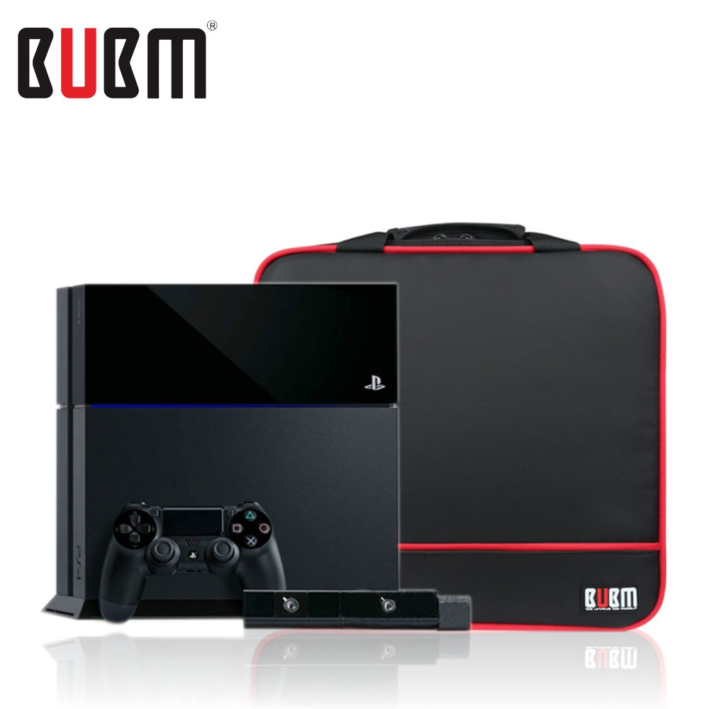 BUBM PS4 console receiving bag storage organizer game bag pouch data wire digital receiving bag shoulder bag handbag bubm for htc vive vr bag case travel shoulder case backpack waterproof video game console controller portable storage bag