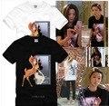 100% Algodón de Moda de Verano Camiseta de Las Mujeres Amantes de Harajuku Impresión Camisetas Mujer Kawaii Tops Camiseta Más Tamaño 3XL JA2418
