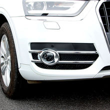 цена на For Audi Q3 2012-2015 ABS Chrome Car Front Fog Lamps Frame Decorative Exterior Stickers Cover Trim Car-styling accessories 2pcs
