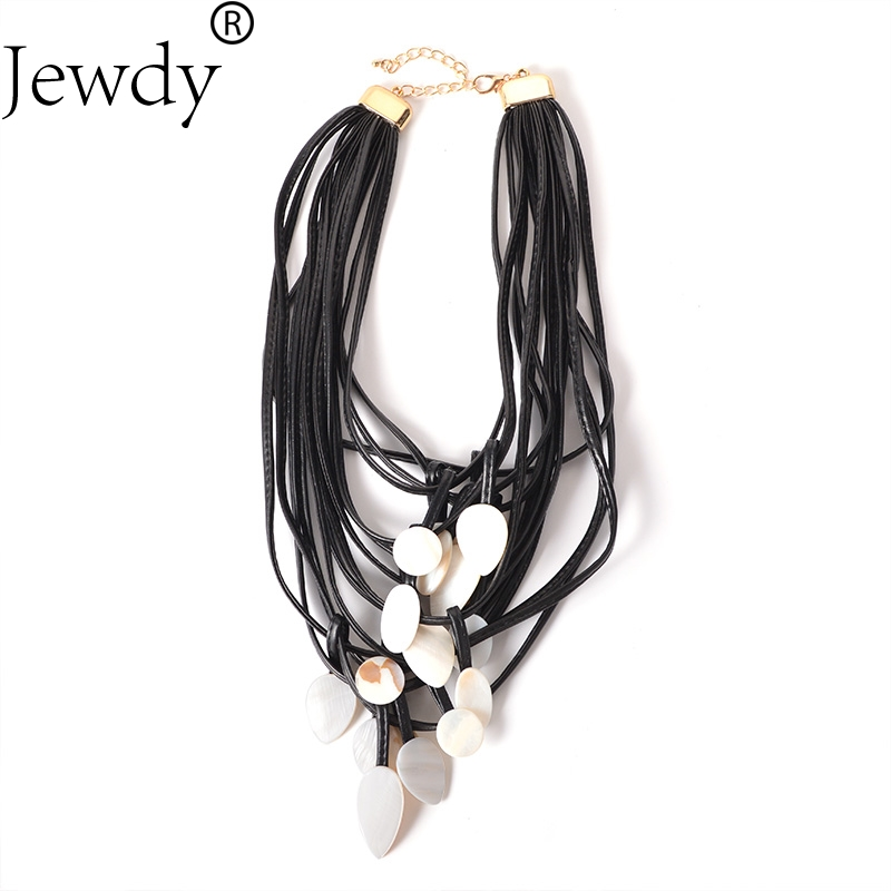 Jewdy mulit layer pendant necklace Wedding Statement Maxi Color Bridal Link Party Dress Accessories