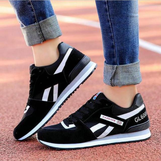 2017 Korean Version Mesh Women Casual Shoes Summer Heavy-bottomed Women Shoes Cheap Walking Women Flats Shoes Tenis Feminino