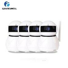 4 шт. Graneywell IP Камера 1080 P Wi-Fi HD 2MP CCTV Камера ИК Ночное видение P2P охранных Камера видео Камеры скрытого видеонаблюдения