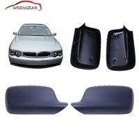 1 Пара Заднего Зеркала Двери Боковое Крыло Крышки Case Fit для BMW E46 E65 E66 323 328 330 745 750 760 C/5
