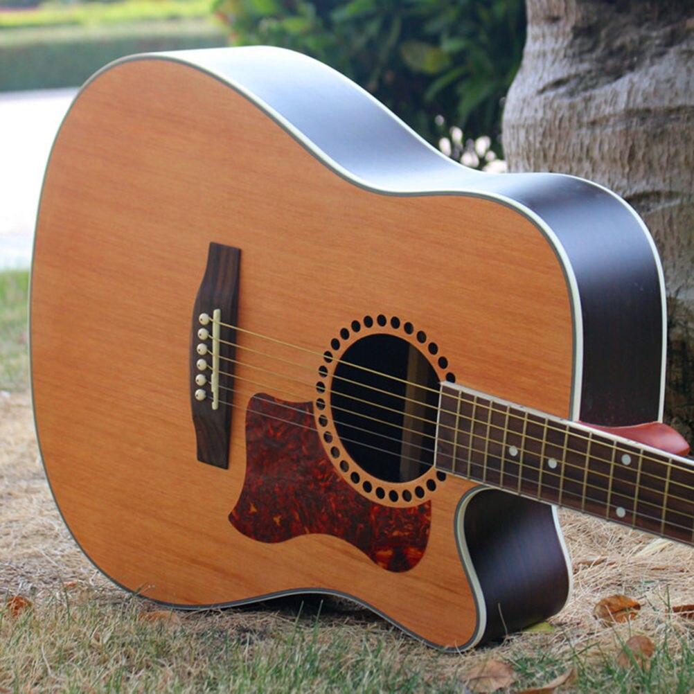1 PC Folk Acoustic Guitar Pickguard Self-adhesive Pick Guard Sticker For Acoustic Guitar Parts