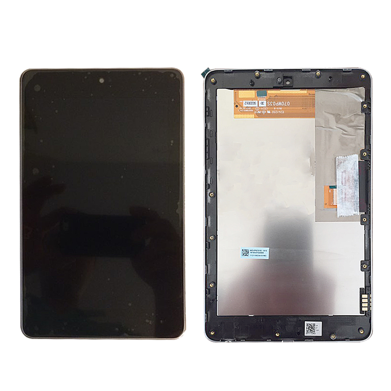 5pcs Wholesale LCD Display Panel Screen Monitor Touch Screen Digitizer Glass Assembly For ASUS Google Nexus 7 nexus7 2012 ME370T