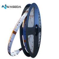 WASEDA de tira LED 5050 DC12V 60 LEDs/m de luz LED Flexible RGBWW RGBW 5050 impermeable tira de LED 300 Led 5m ip65 Rgbw/ww tira de LED
