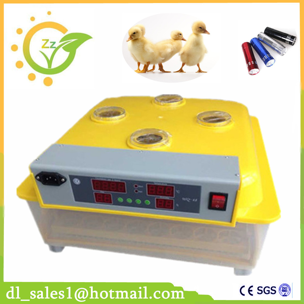 Home Use 48 Eggs Automatic Incubator Digital Temperature Control Turning Brooder Chicken Duck Eggs Incubators Machine подвесной светильник nowodvorski imbria white 9678