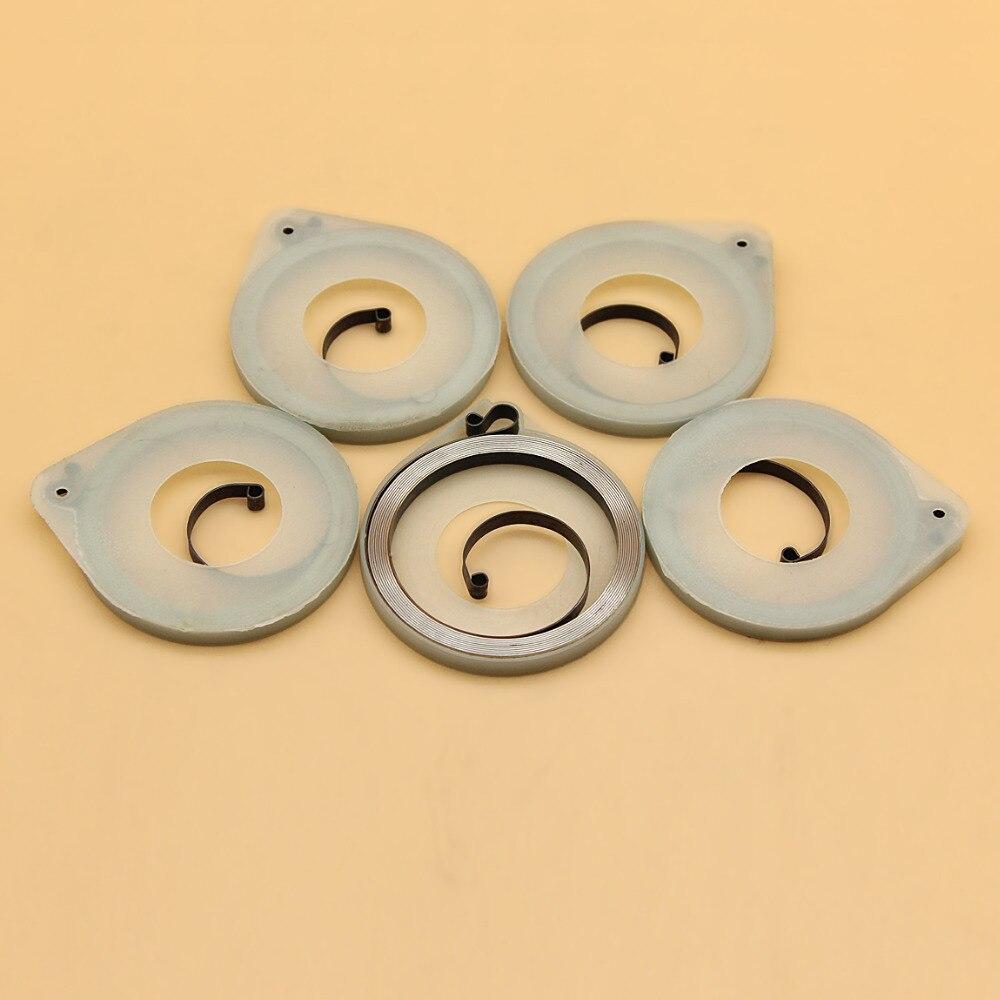 3 x Recoil Starter Spring For Husqvarna 51 55 41 50 JONSERED 2041 2050 Chainsaw
