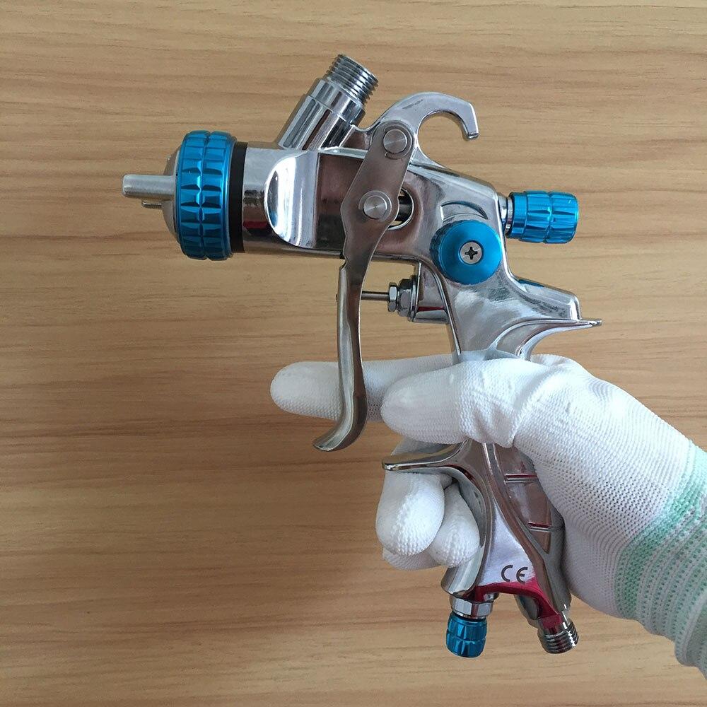 SAT1215 professional HVLP spray gun for car painting air atomizer base coat spray paint gravity feed
