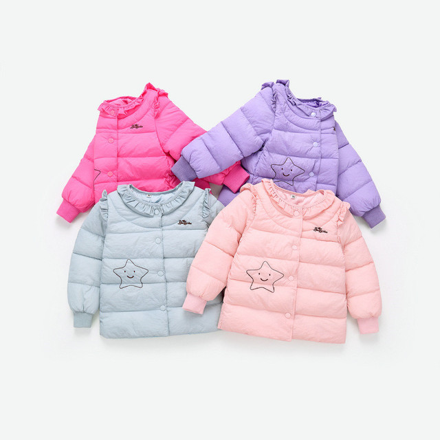 0c2e1b74f4c US $15.66 25% OFF BibiCola kids girls down parkas coat thick warm outwear  for baby girls down liner clothing outfits children girls winter jackets-in  ...