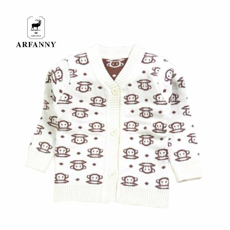 Fall and winter baby sweater. Cartoon cotton single-breasted knit jacket. High-quality soft infant clothing. baby boy clothes