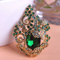 Verde Colares Accessoris Buquê de Flores Broche Hijab Pinos Broches Bijuterias Ferfumes Mulheres Animais Broche de Esmalte De Unhas