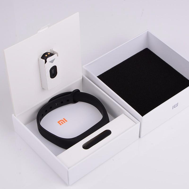 Oryginalny xiaomi mi kompania 2 miband bransoletka wistband inteligentnego tętno fitness ekran oled wyświetlacz dla iphone 7 touchpad bluetooth 7