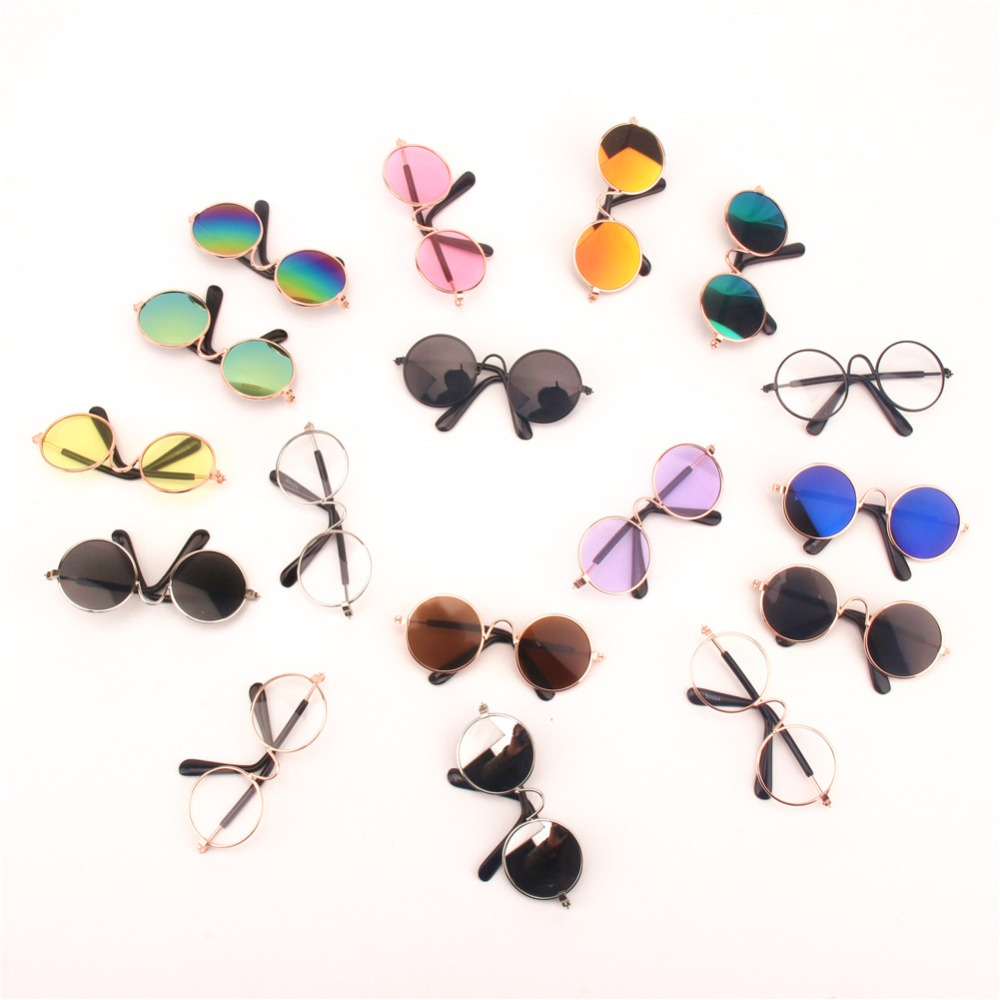 PipiFren Dog Glasses Cat Small Dogs Sunglasses For Pet Supplies Dog Pet Photos Props Accessories Products Honden Accessoires