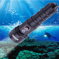 XTAR D26 Whale CREE XM L2 U3 LED 4 Mode 1100 Lumens 18650/18700/26650 Diving Flashlight Set With Charger