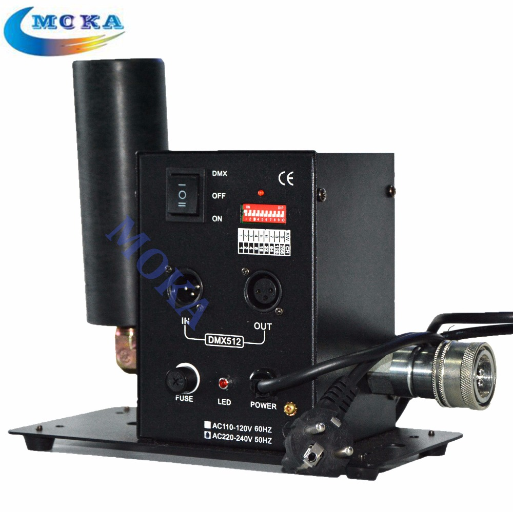2PCS/LOT 200W  CO2 Jet DMX 512 Cryo FX CO2 Cannon Special Effects CO2 Fog Blaster for Dj ,Stage