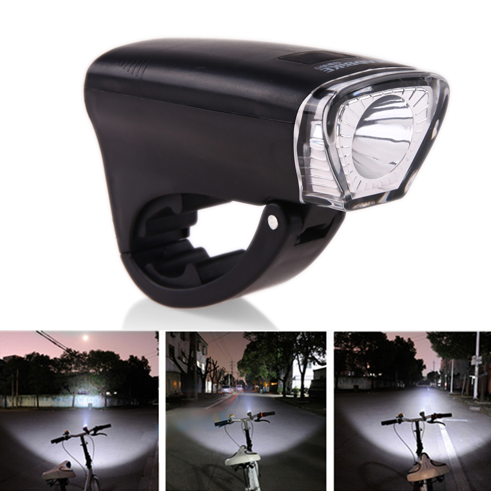 300LM Waterproof Road Bike Bicycle Front Light 3Mode Cycling Handlebar LED Flashlight Torch Bicycle Safety Warning Headlight
