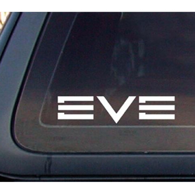 Details about EVE Online Game Car Decal / Sticker - White (6 x 1.4 inches)