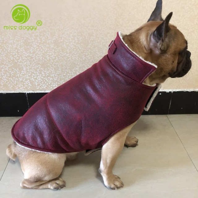 fca1c33b225d Autumn Winter Warm Overalls for Dogs Thickening Soft Fleece Puppy ...