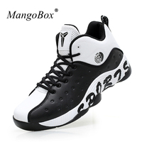 KERZER Mens Basketball Sneakers High Top Basketball Boots Court Sport Shoes Kids Men Black Blue Training