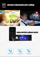 Car radio video player 1 din stereo 4 inch mp5 HD screen support Bluetooth/FM USB/SD AUX