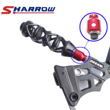 Sharrow 1 Piece Quick Disconnect Aluminum Alloy Mounting Bracket Detach Removeable Compound Bow Stabilizer Joint