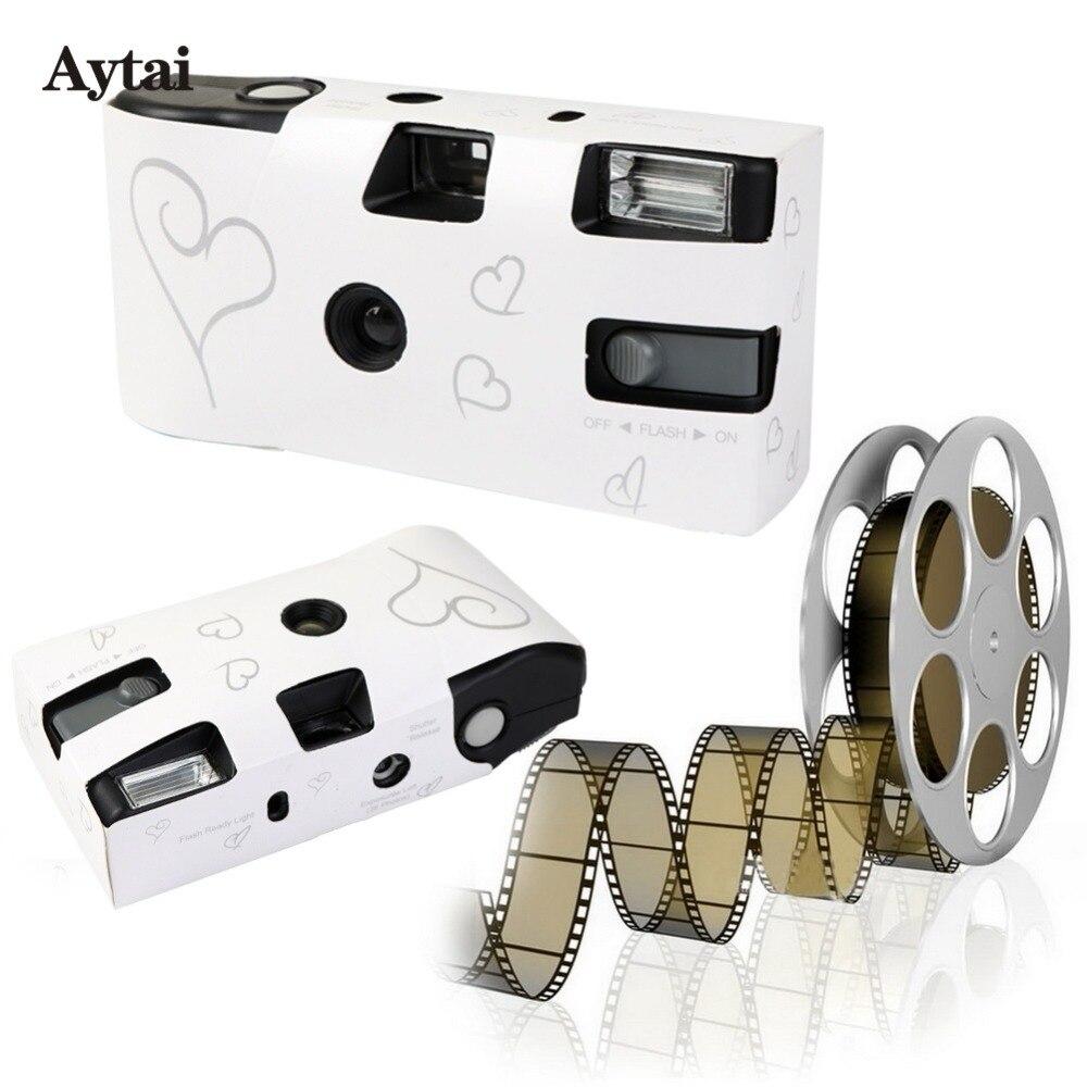 Aytai 10pcs Wedding Centerpieces Heart Disposable Cameras Wedding ...