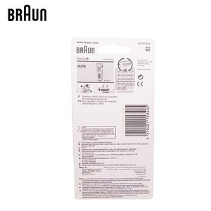 Image 4 - Braunn 92s סדרת 9 רדיד & קאטר החלפת ראש קלטת מכונת גילוח גילוח להב 9030s 9040s 9050cc 9090cc 9095cc