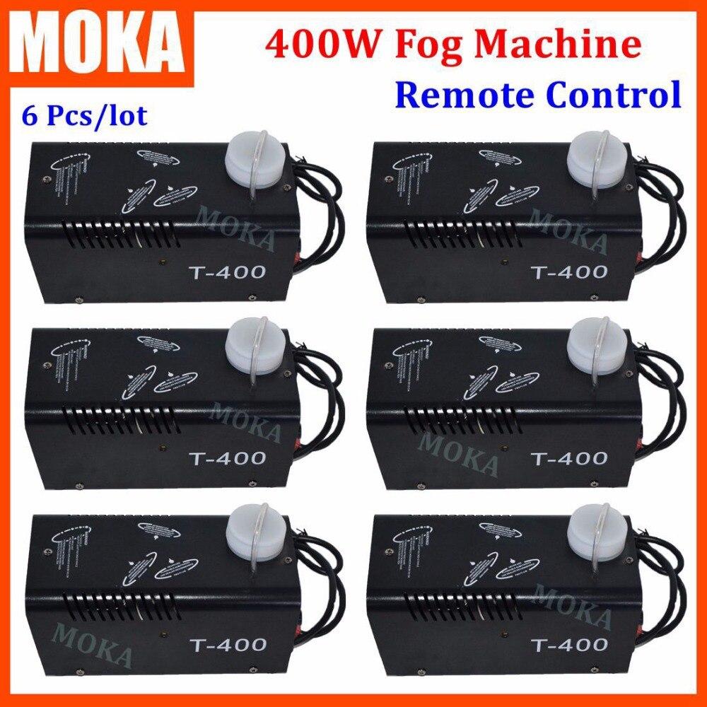 6 Piece/lot NEW fog machine china 400W Mini Smoke Machine Party Fogger Machine remote control fog machine