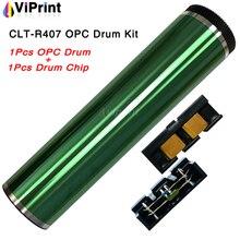 CLT-R407 407 Фотобарабан чип комплект для samsung CLP-320 CLP-321n CLP-325 CLP325w CLP-326 CLX-3185 CLX-3186 3185fn 3185fw 3186n 3186fn