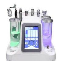 6 в 1 Гидра дермабразия Aqua Peel чистая уход за кожей BIO Light RF вакуумная Очистка лица Гидро Вода кислородная струйная очистка машина косметология