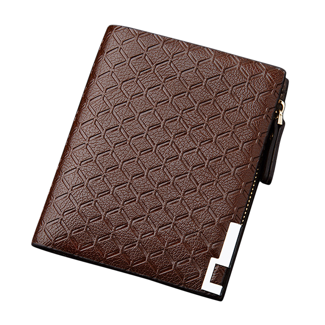 Baellerry Wallet Purse Card-Holder Short Money-Bag Coin-Pocket Zipper Famous Men