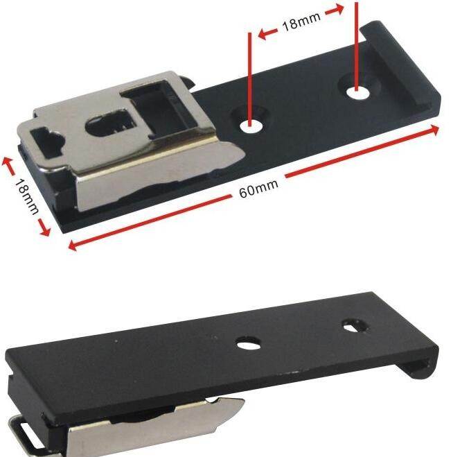 35 мм din-рейка фиксированный зажим