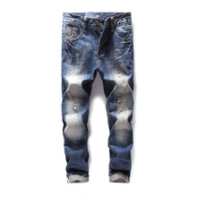 2017 New Arrival Fashion Dsel Brand Men Jeans Washed Printed For Casual Pants Italian Designer Men!608-3